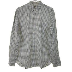J. Crew Men's Button-Down Shirt Large
